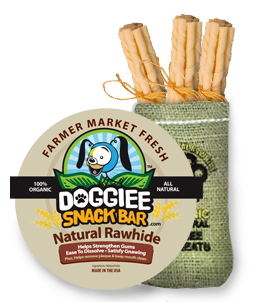 100% Natural Rawhide Gnaw Stix/15 pack